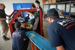 EMT practice rescue missions