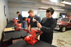 Students in the Automotive Program