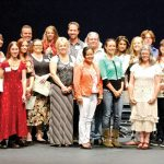 2016 scholarship awards ceremony and the recipient group photo
