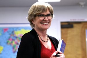 Suzanne Chavez during the 2017 Winter Term.