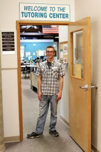 Jeremy Smith is peer tutor at the RCC Riverside Campus Tutoring Center. A new training program is boosting learning.
