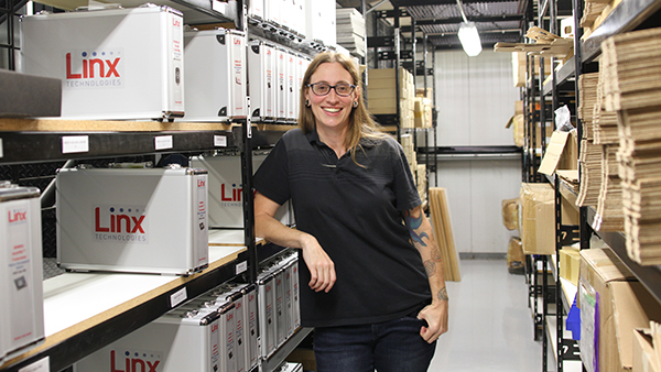 Jessica Simpson is the operations manager for Linx Technologies in Merlin, Oregon.