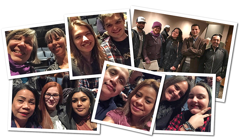 """The Adult Basic Skills department organized a trip to see """"Mother Road"""" at the Oregon Shakespeare Festival."""