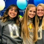 RCC sophomores Logan Billy, McKenna Frison and Lara Nuttall have all signed on to play soccer next season with NAIA universities.