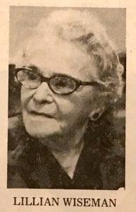 Lillian Wiseman